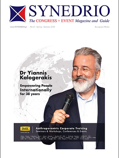 Διαβάστε το SYNEDRIO – Congress + Event Magazine and Guide Νο 47