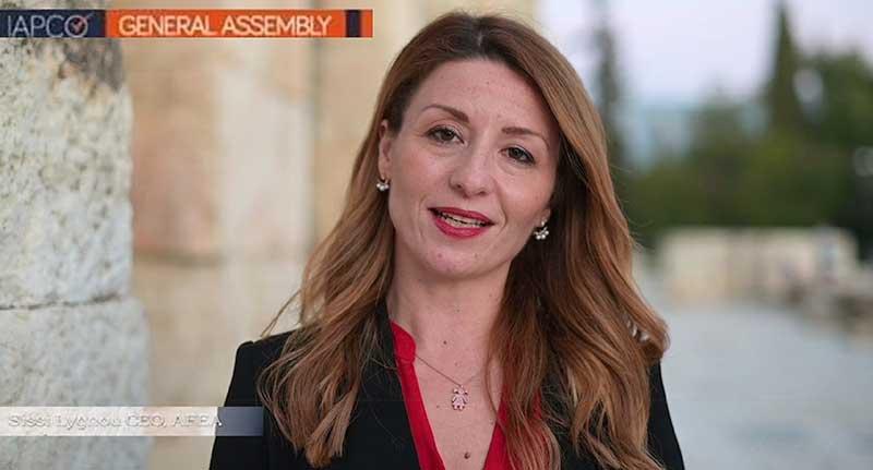 Μια Ελληνίδα στο Δ.Σ. της IAPCO
